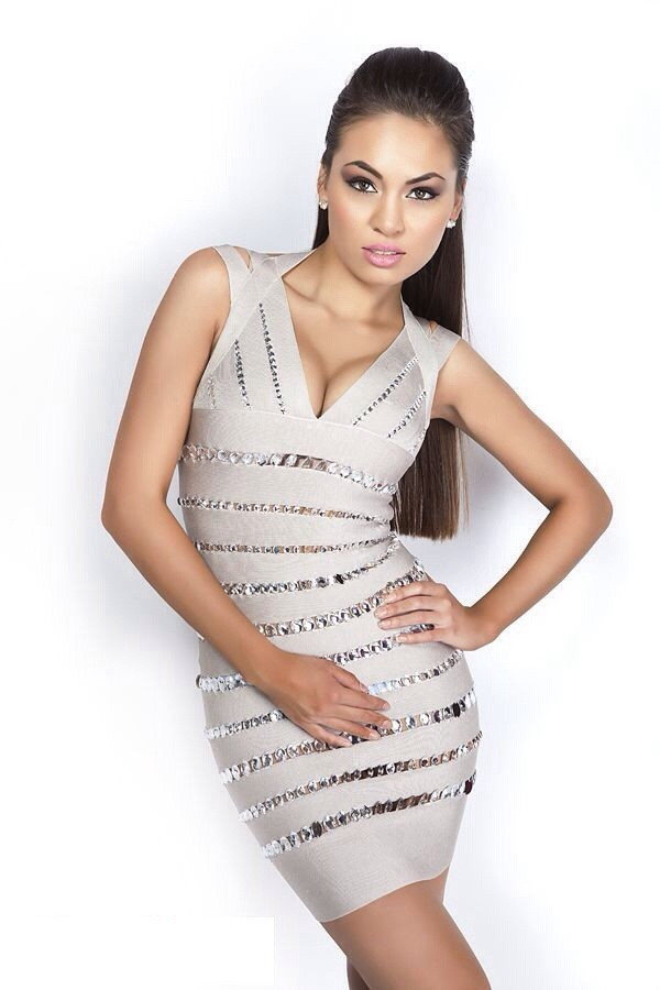 dress bandage dress celebrity style