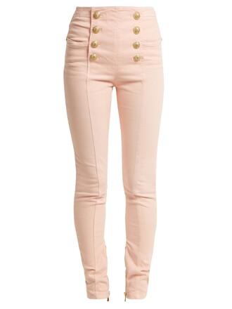jeans high light pink light pink