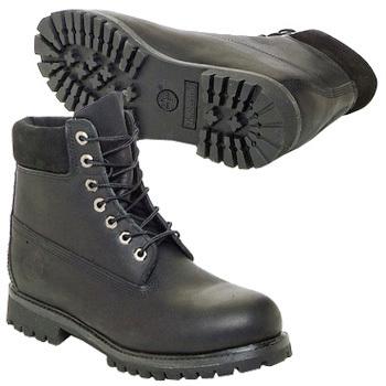 Boots Timberland 6 IN PREMIUM BOOT Noir - Livraison Gratuite avec Spartoo.com ! - Chaussures Homme 195,00 €