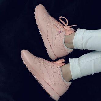 shoes pastel pastel pink sneakers reebok reebok pastel sneakers urban pastel pink pink
