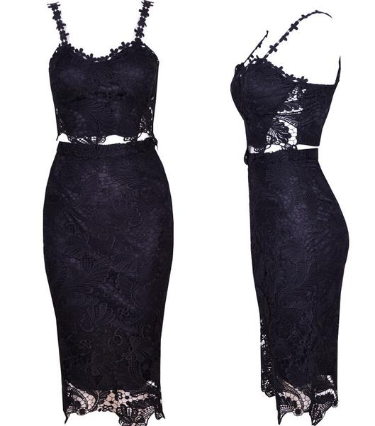 Stella two piece lace dress