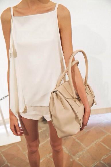 top white top bag