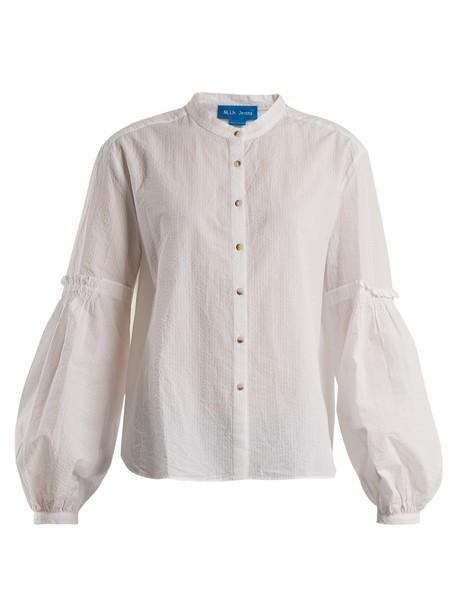 M.i.h Jeans shirt cotton white top