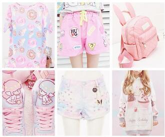 shorts cute japanese fashion japanese streets japanese inspiration kawaii bag