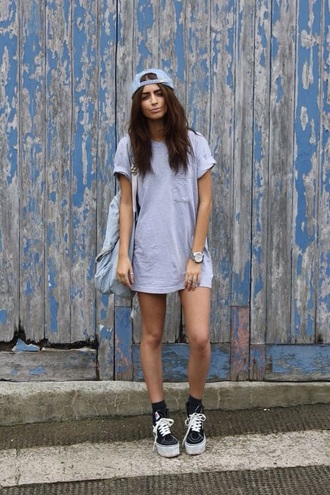 shirt grey swag urban cap t-shirt