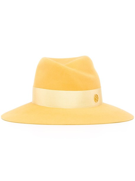 hat yellow orange