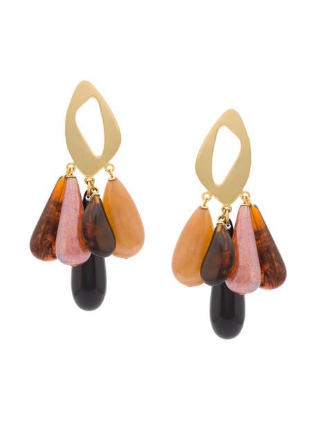 LIZZIE FORTUNATO JEWELS women earrings gold jewels