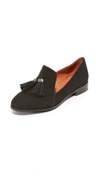 tassel loafers black shoes