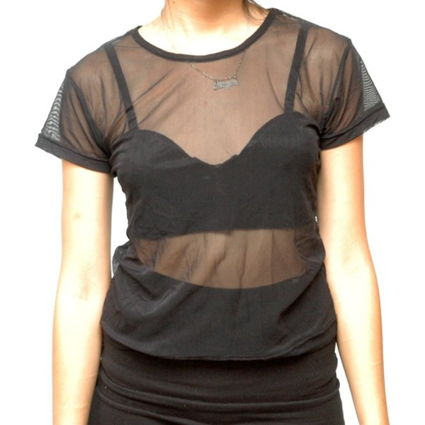 Transparent Black Crop Tops - Shop for Transparent Black Crop Tops ...