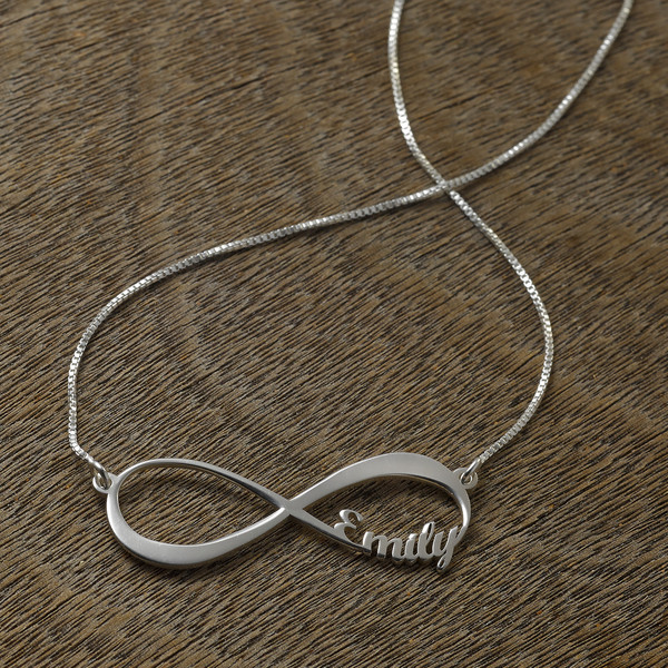 jewels infinity name necklace name necklace personalized pendent personalized silver pendent gift ideas birthday gift wedding gift birthday gifts