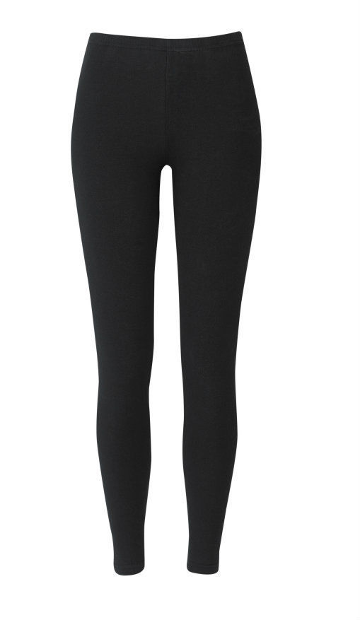 Leggings Full Length Plain Black Girls Ladies Womens Stretch Long Free Postage | eBay