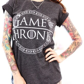 t-shirt game of thrones tv