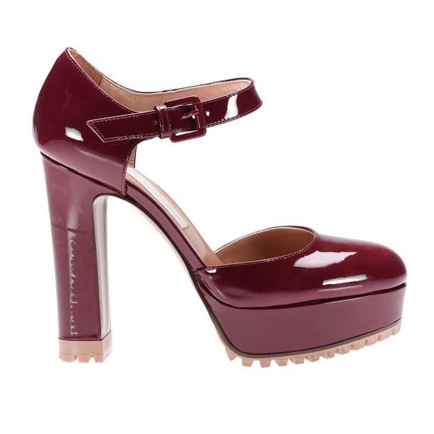 LAutre Chose women pumps shoes burgundy