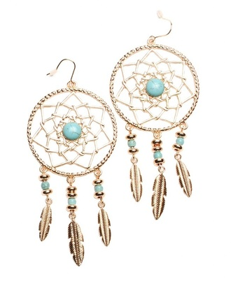 jewels earrings. dreamcatcher jewelry