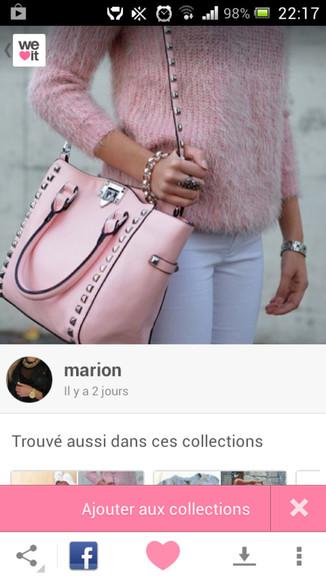 rose bag sac sac ? main