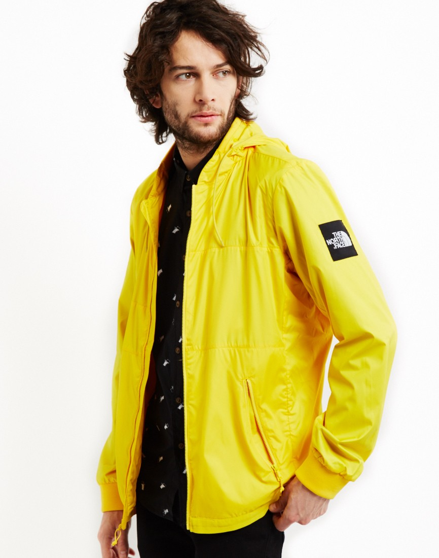 The North Face Black Label Denali Diablo Jacket Yellow 60f95981bef5