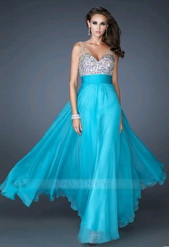 dress prom dress evening dress graduation dresses bridesmaid 2015 new dress blue dress long dress for prom party dress sexy beaded party dresses