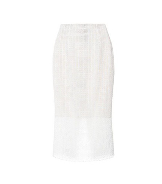 Roland Mouret skirt cotton white