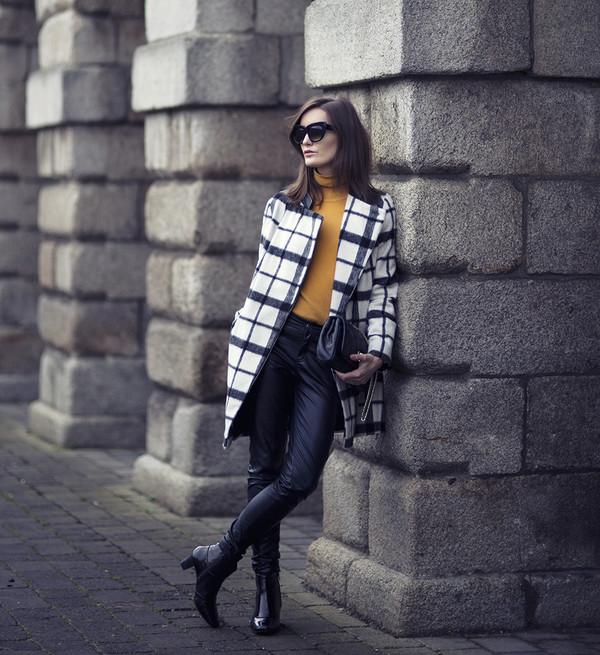 anouska proetta brandon coat sweater shoes pants bag jewels