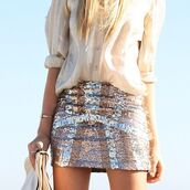 skirt,sequins,blouse,design,light,shiny,pink,glitter,girly,silver,lines,sparkle
