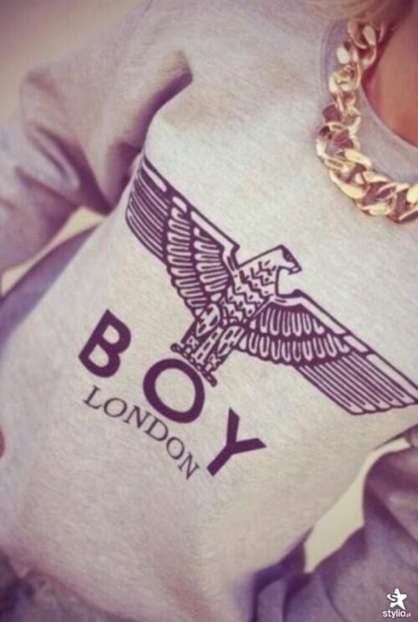 sweater sweatshirt boy london