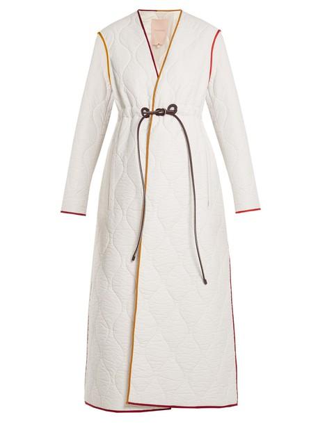 Roksanda coat quilted