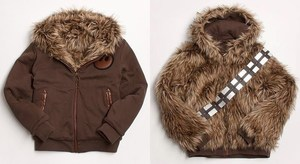 Marc ecko star wars chewbacca jacket coat reversible faux fur wookie chewy
