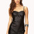 On The Edge Faux Leather Romper | FOREVER21 - 2000073669