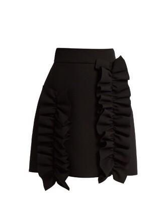 skirt mini skirt mini black