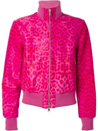jacket bomber jacket purple pink