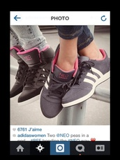 shoes,adidas,pink,girly