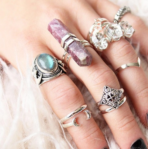 Jewels Dixi Shopdixi Shop Dixi Crystal Ring Quartz