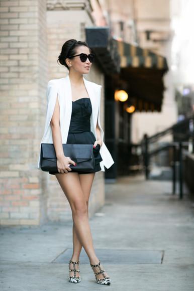 wendy's lookbook blogger top jacket bag sunglasses