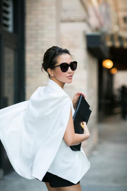 wendy's lookbook blogger top jacket bag sunglasses valentino rockstud
