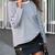 White Black Long Sleeve Striped T-Shirt -SheIn(Sheinside)