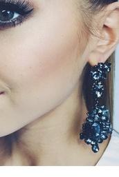 jewels,earrings,chandelier earrings