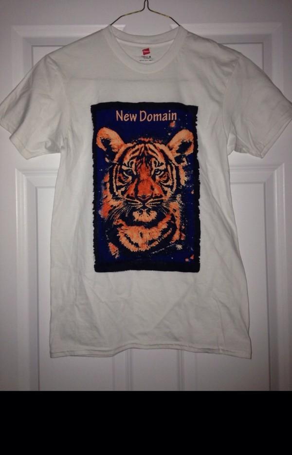 t-shirt tiger shirt tiger vibrant
