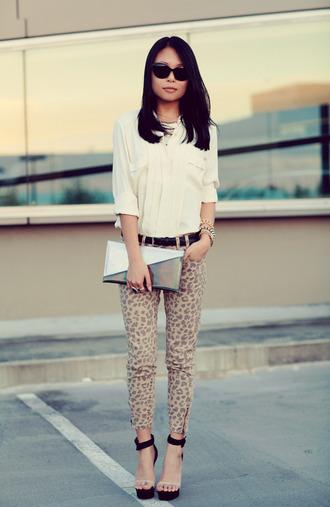 jeans leopard print leopard jeans shoes