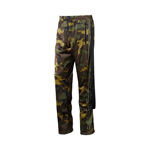 adidas Jeremy Scott Zipped Camo Track Pants - Polyvore