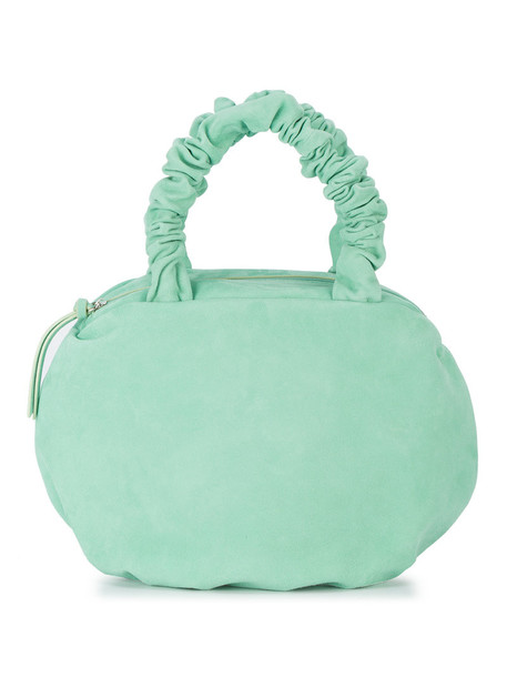MARYAM NASSIR ZADEH women handbag suede green bag