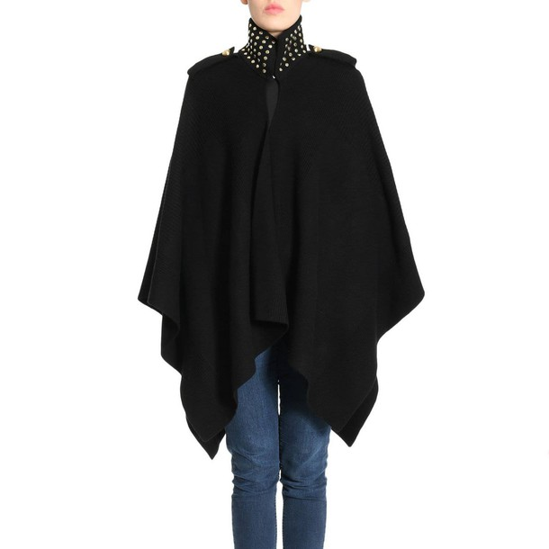 cape women black top
