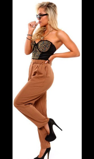 pants crop tops diamonds buisness classy urban