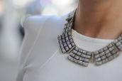 jewels,necklace,silver,blouse