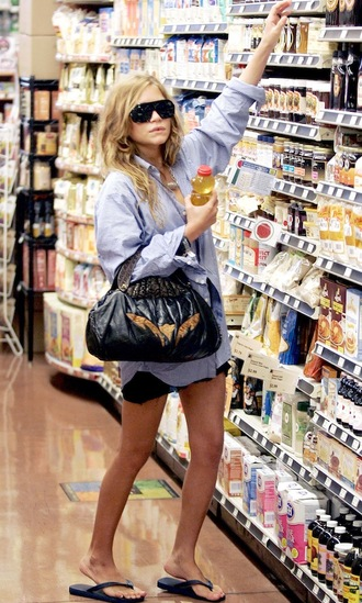 mary kate olsen skirt shirt shoes