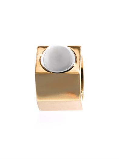 Babeth gold & silver tone ring