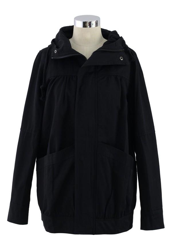 chicwish parka parka hooded coat