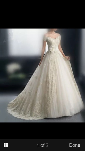 dress wedding dress lace wedding dress white dress ivory dress ivory wedding dress