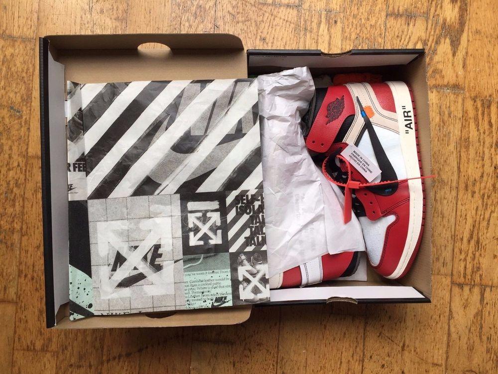 Ten' Jordan X Uk9 Off Air Virgil 1 Nike Us10 White Abloh 'the cF3uTlK1J