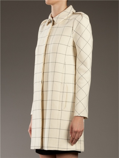 See By Chloé Round Collar Coat -  - Farfetch.com
