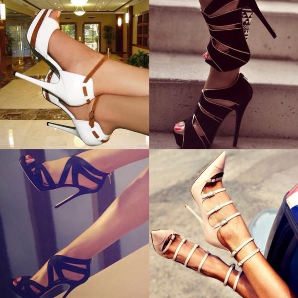 high held high heels heels black heels white heels sun classy sexy heels girl women nude